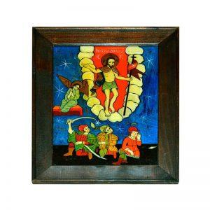 tablou-pictura-pe-sticla-invierea